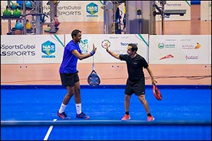 Team �Uncle Saeed' Reaches Last-Eight of NAS Padel Championship with Battling Three-Set Win
