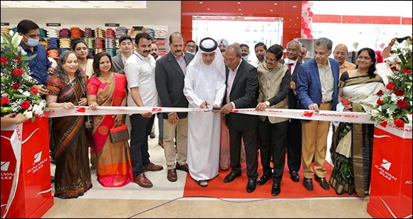 Kalyan Silks' Biggest Showroom  In Dubai Opens at Qusais