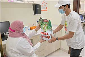 Saudi Hospital Workers Receive a Million Antivirus Laundry Washes