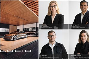 Lucid Motors Appoints Sherry House as Chief Financial Officer