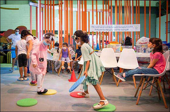 Exciting Games Enhances Kids' 'Smart Skills' at SCRF 2021