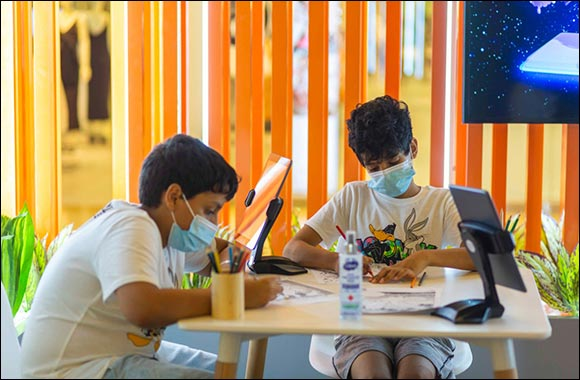 Liven up your child's weekend with SCRF's augmented reality workshop at the Yas Mall