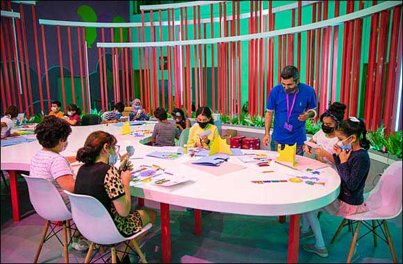 Pop in to the Sharjah Children's Book Festival  or a Little Bit of Pop-up Magic!