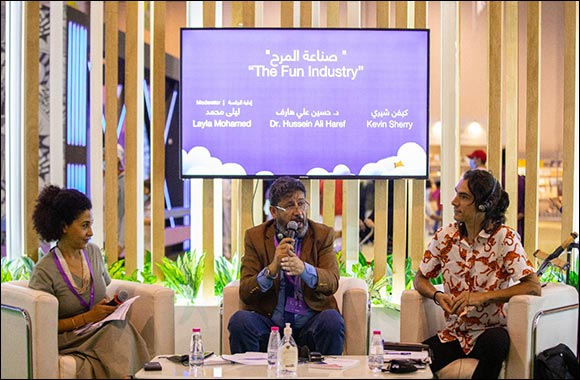 Children's Art Should Focus on being Fun say Experts at SCRF 2021