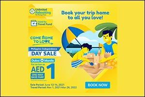 Cebu Pacific Celebrates Philippine Independence Day with Special AED1 Seat Sale for Dubai-Manila Fli ...