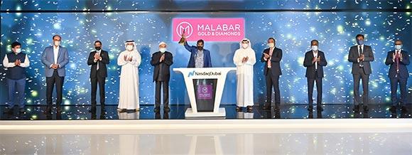 Malabar Gold & Diamonds redomiciles to Dubai International Financial Centre (DIFC) and joins Nasdaq Dubai's Private Market