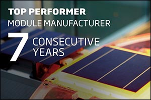 Trina Solar Wins Its Seventh Consecutive �Top Performer�  Certified by PVEL for Its High-Reliability ...