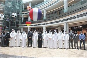 SCCI Officials Tour Sahara Centre's New Expansions