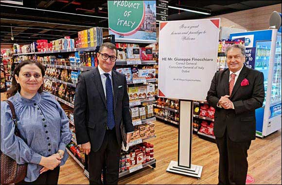 Al Maya Group keen to Boost Import of Italian Food Products