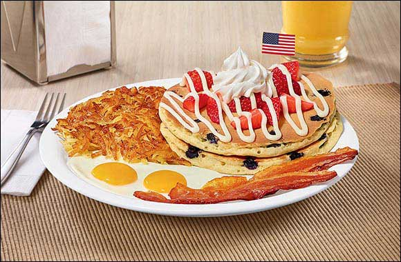 Celebrate July 4th at Denny's With a Star-Spangled Special