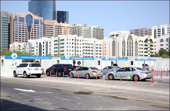 Abu Dhabi Health Services Company Announces the Opening of the SEHA COVID-19 Drive-Through Services Center in Al Manhal