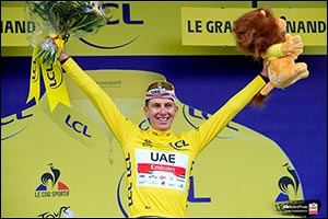 Pogačar Seizes Yellow Jersey in the Alps