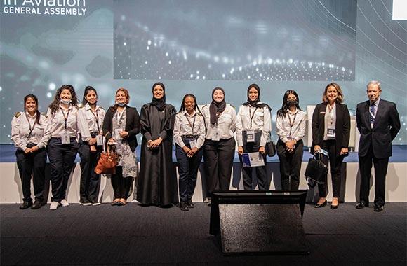 Women in Aviation (WIA) in Dubai Awards Scholarships to Rising Stars