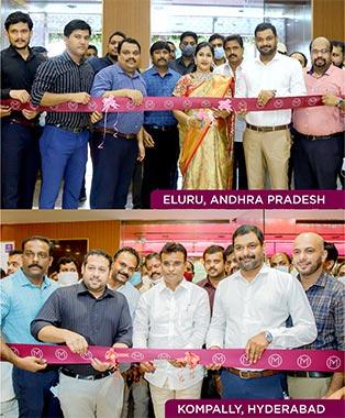 Malabar Gold & Diamonds Opens 2 New Stores in Andhra Pradesh and Telangana, India