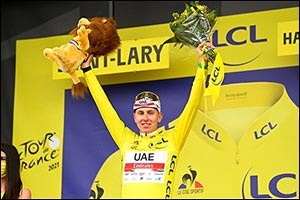 Pogacar Stamps His Authority on Stage 17 of the Tour De France