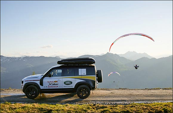 Unstoppable Capability: Land Rover Defender Supports  Red Bull X-Alps Champion Maurer