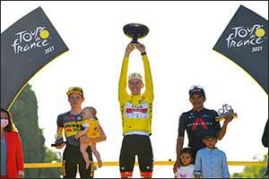 Tadej Pogacar Makes History as Back-to-back Tour De France Champion