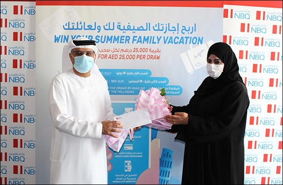 NBQ Announces First Winner of the  AED 25,000 Summer Travel Promotion