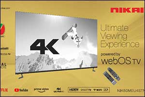 Nikai Launches First WebOS TV in the UAE; Revolutionizing the TV Viewing Experience