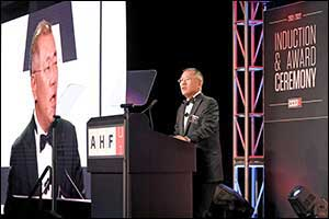 Hyundai Motor Group Honorary Chairman Mong-Koo Chung Inducted Into Automotive Hall of Fame at Offici ...