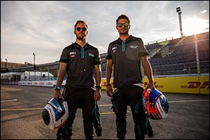 Mitch Evans Secures His Fifth Podium for Jaguar Racing to Take the Lead in the Formula E Teams' Stan ...