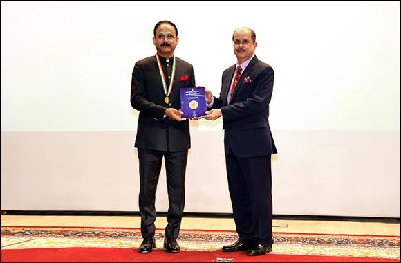 2021 Pravasi Bharatiya Samman Presented to Dr Siddeek Ahmed