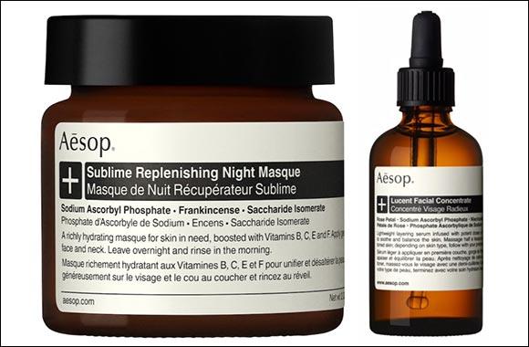 Aesop's Skincare+ Range:  Night Time Skincare Routine Favorites