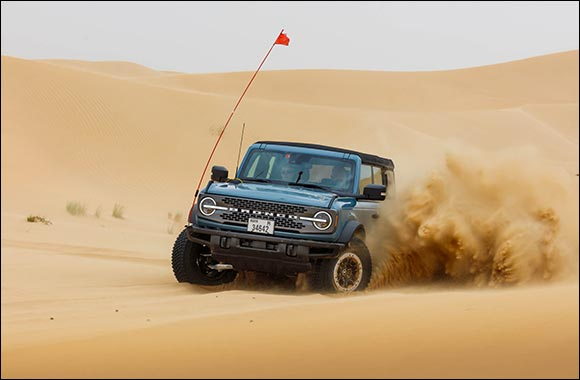 All-new Ford Bronco: Built Untamed and Tested to Endure the Harshest Conditions in the Middle East