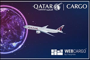 Qatar Airways Cargo Expands the Implementation of WebCargo by Freightos across all its Regions