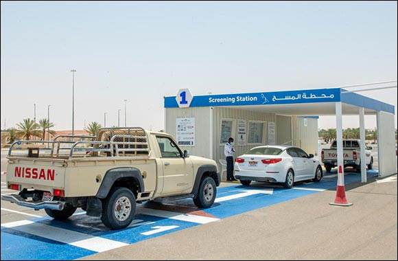 SEHA Introduces Three New COVID-19 Drive-Through Services Center in Al Dhafra