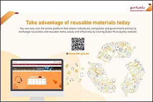 Dubai Municipality Launches Electronic Platform for Exchange of Recyclable or Reusable Materials