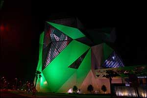 Yas Island to Go Green and Organize Fireworks Fantasia in Celebration of Saudi Arabia's National Day