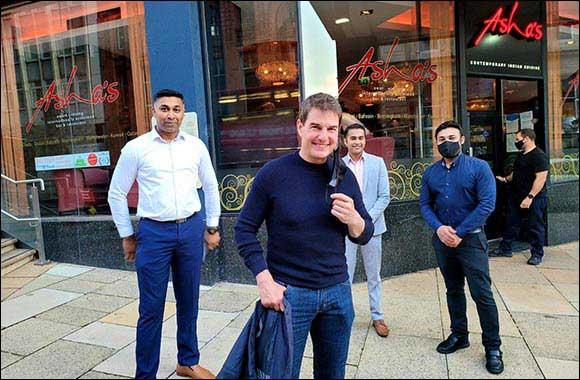 Tom Cruise gets curried away at Dubai born Asha's