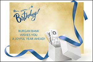 Burgan Bank Relaunches its Birthday Gifts for All Customers on their Birthdays!