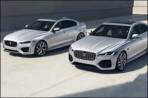 Jaguar XF and XE R-Dynamic Black: Enhanced Design and Connectivity