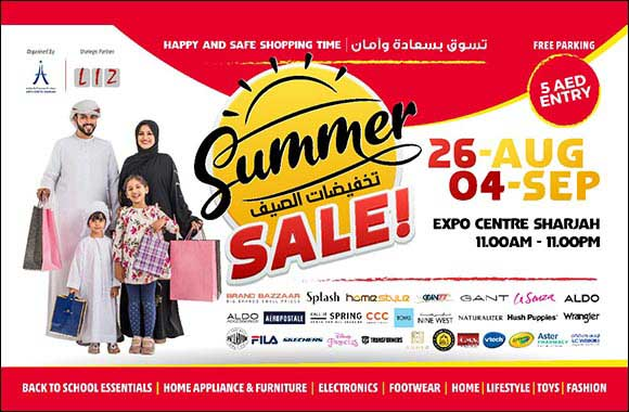 10-Day Summer Sale Set to Sizzle at Expo Centre Sharjah