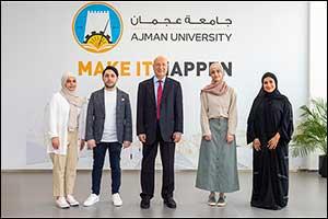 Ajman University Students Win Prestigious James Dyson Award for Design Engineering