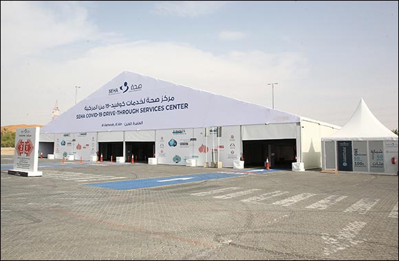 Abu Dhabi Health Services Company Announces the Opening of the SEHA COVID-19 Drive-Through Services Center in Al Aamerah, Al Ain