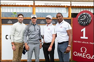 OMEGA Masters 2021  Celebrities join Guido Migliozzi for the Pro-Am