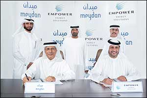 Empower Signs an Agreement to Acquire and Supply the Meydan Master Community With 382,000 Rt Distric ...