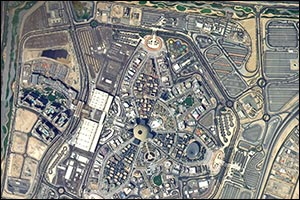 KhalifaSat from Space of EXPO 2020