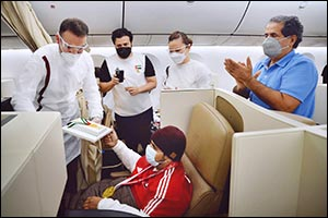 Etihad Airways Fly the UAE Paralympic Champions Home