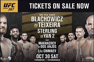 Abu Dhabi Showdown Week Set to Showcase Two Blockbuster Championship Fights at UFC� 267