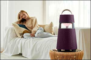 LG Xboom 360 Delivers Premium Sound  With Stylish Design Anyplace, Anytime