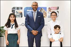 GEMS CEO and Student-Author Record Children's Audiobook to Mark International Literacy Day