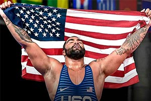 WWE Signs Olympic Gold Medalist Gable Steveson to Exclusive Agreement