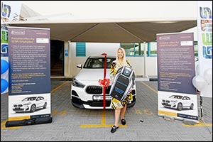 GEMS Education Teacher Wins Brand New BMW X2 after Signing Up for an Emirates NBD Bank Account