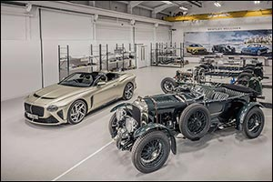 First Bacalar and Blower Customer Cars Hand-finished by Bentley Mulliner