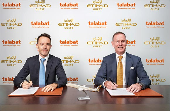 Etihad Airways and Talabat Team Up  To Explore a Range of Exciting New Initiatives