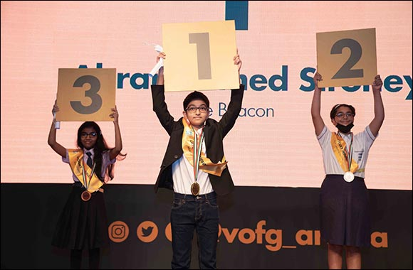 Winners of Voices of Future Generations Writing Competition Crowned at Awards Ceremony